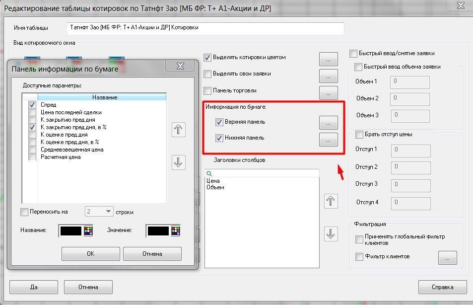 QUIK 7.5. Новые фишки в стакане котировок